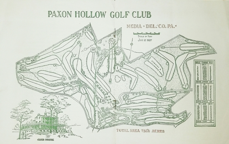 Paxon Hollow Routing 1927.jpg