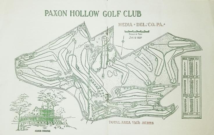 Paxon Hollow Routing 1927.jpg