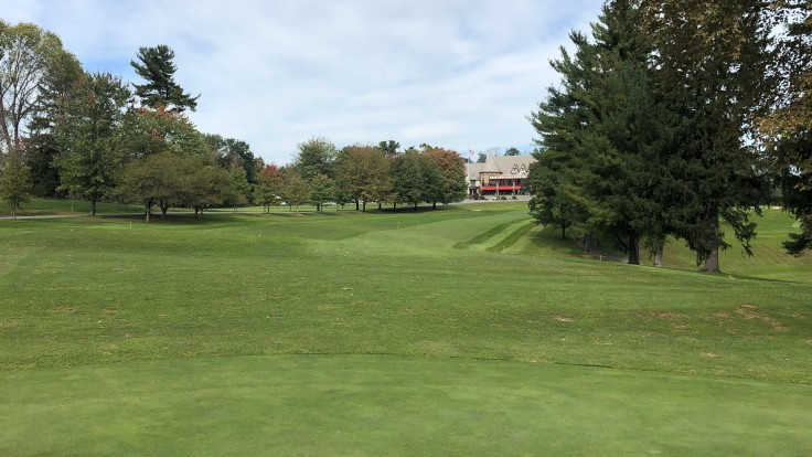 Reading CC - 1st Fairway from Green