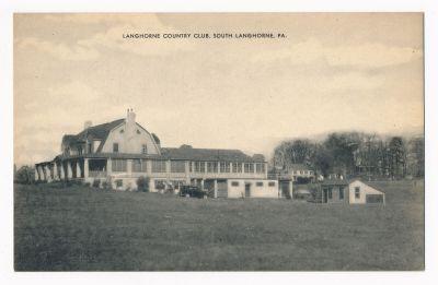 Langhorne CC Postcard