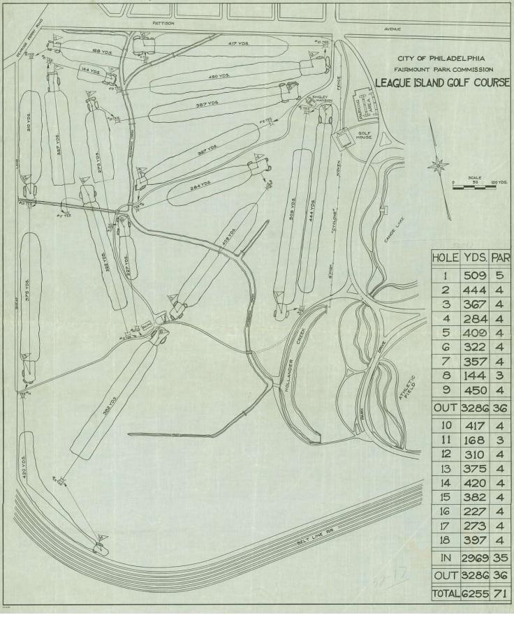FDR Golf Course Plans