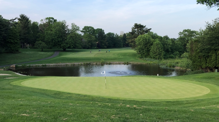 The Walking Golfers Society Outing - 18th at Woodcrest