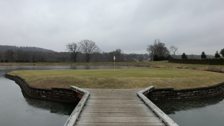 Bella Vista Golf Course 14th Green
