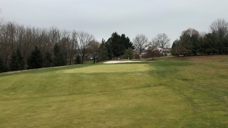Bella Vista Golf Course 1st Green