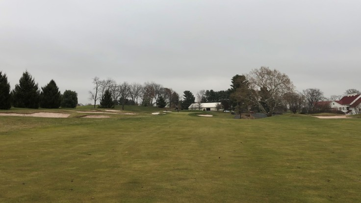 Bella Vista Golf Course 9th Approach