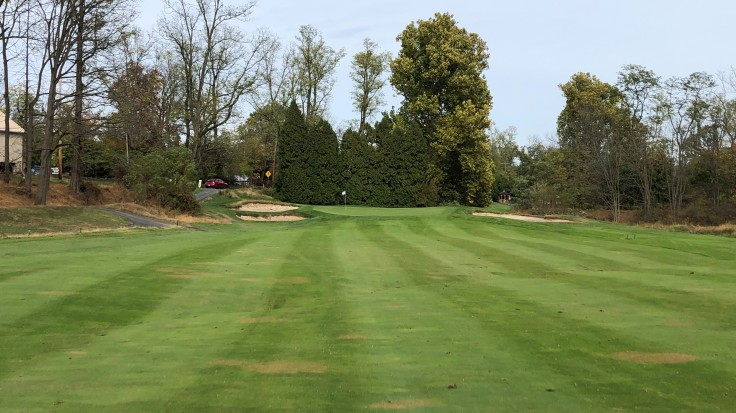 Locust Valley Golf Club - 18th Approach