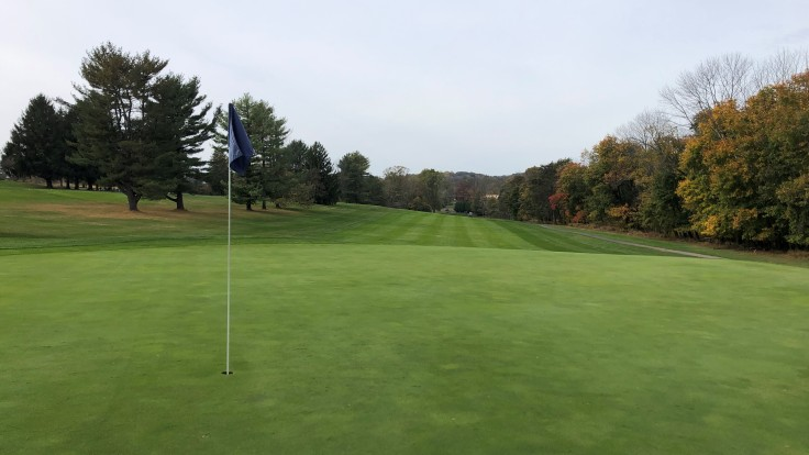 Locust Valley Golf Club 1st Green