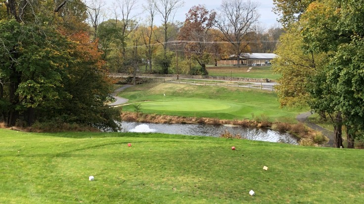 Locust Valley Golf Club 9th Hole