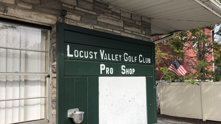 Locust Valley Golf Club - Pro Shop Sign
